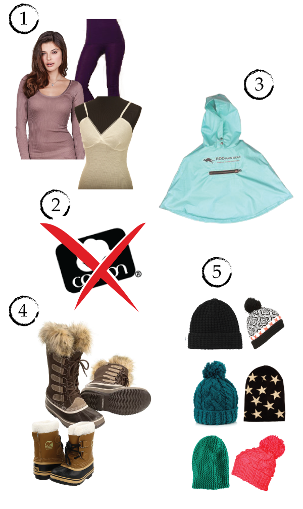 products and tips on how to stay warm during the winter