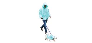 adult poncho, Roo Rain Gear, waterproof, RPET